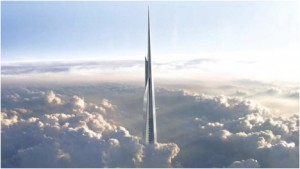 Kingdom Tower top