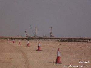 Kingdom Tower Preparations Underway