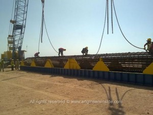 Kingdom Tower works, January 28, 2012