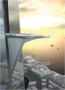 Kingdom Tower Observation Deck